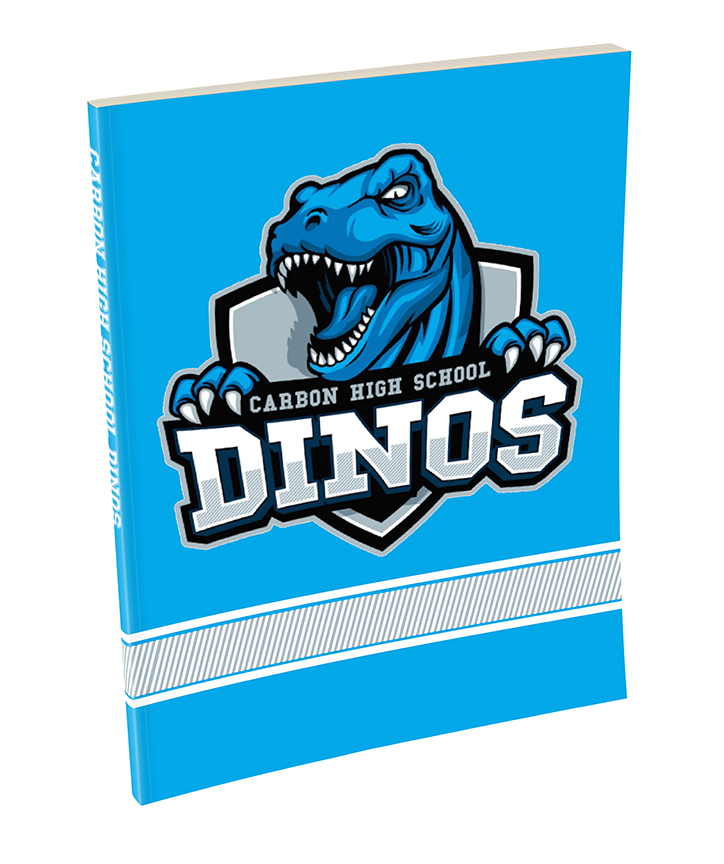 Dinos Custom Branded School Notebook