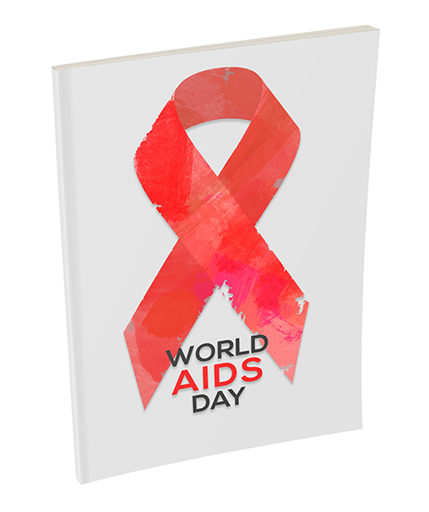 World Aids Day Custom Branded Fundraising Notebook