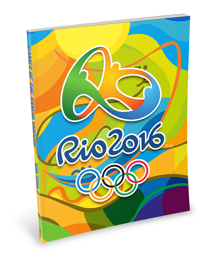 2016 Olympics Custom Branded Notebook