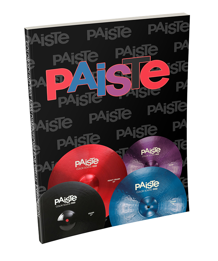 PAISTE Custom Branded Notebook for the NAMM Show
