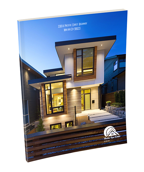 Malibu Real Estate Custom Branded Notebook